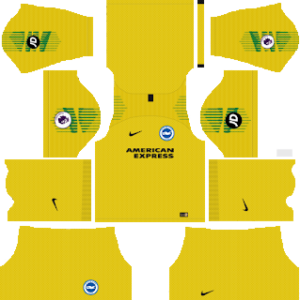 Brighton & Hove Albion Goalkeeper Away Kit 2019