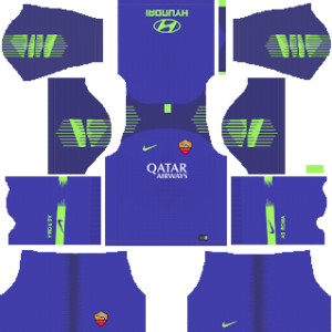 AS Roma Goalkeeper Home Kit 2019