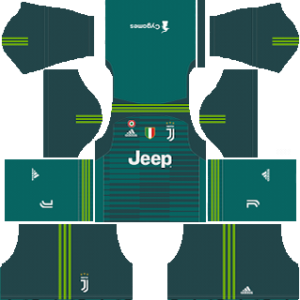 Juventus Goalkeeper Home Kit 2019