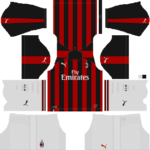 AC Milan Kits 2018/2019 Dream League Soccer