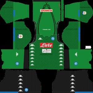 S.S.C Napoli Goalkeeper Home Kit 2019