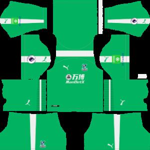Crystal Palace Goalkeeper Home Kit 2019