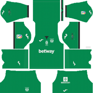 CD Leganes Goalkeeper Home Kit 2019