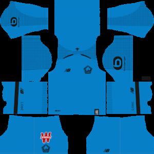 LOSC Goalkeeper Home Kit 2019