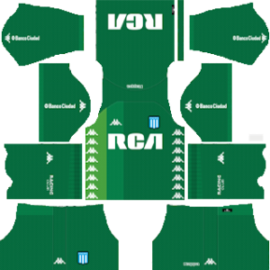 Racing Club Goalkeeper Home Kit 2019