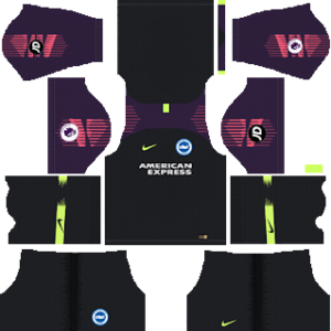 Brighton & Hove Albion Goalkeeper Home Kit 2019