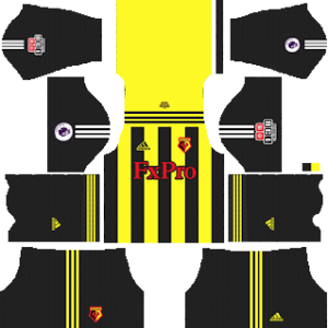 Watford FC Kits 2018/2019 Dream League Soccer