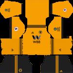 Wolverhampton Wanderers FC Kits 2018/2019 Dream League Soccer