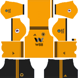 Wolverhampton Wanderers FC Kits 2018/2019 Dream League Soccer