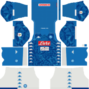 S.S.C Napoli Kits 2018/2019 Dream League Soccer