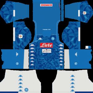 S.S.C Napoli Kits 2018/2019 Dream League Soccer