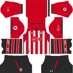 Southampton FC Kits 2018-2019 Dream League Soccer
