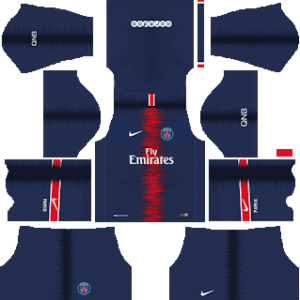 Paris Saint-Germain Kits 2018/2019 Dream League Soccer