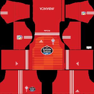 Celta Vigo Goalkeeper Home Kit 2019