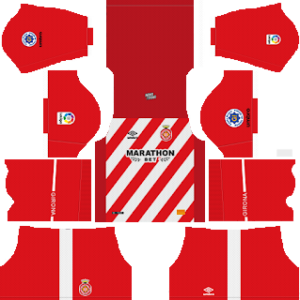 Girona FC Kits 2018/2019 Dream League Soccer