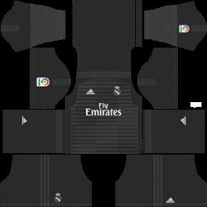 Real Madrid GK home kit 2019