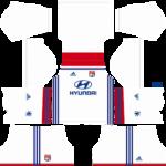 Olympique Lyonnais Kits 2018/2019 Dream League Soccer
