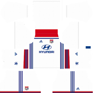 Olympique Lyonnais Kits 2018/2019 Dream League Soccer