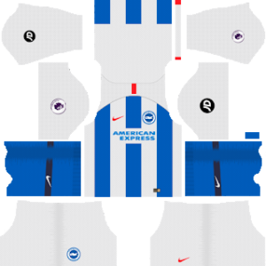 Brighton & Hove Albion Kits 2018/2019 Dream League Soccer