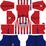 Atletico Madrid Kits 2018/2019 Dream League Soccer