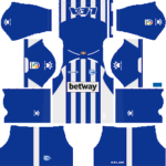 Deportivo Alaves Kits 2018/2019 Dream League Soccer