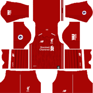 Liverpool Kits 2018/2019 Dream League Soccer
