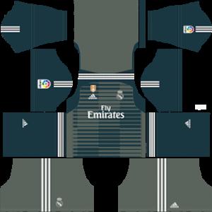 Real Madrid gk third kit 2019