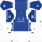 Everton FC Kits 2018/2019 Dream League Soccer