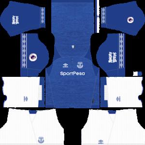 Everton FC Kits 2018/2019 Dream League Soccer