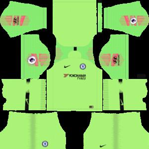 Chelsea Goalkeeper Home Kit 2019
