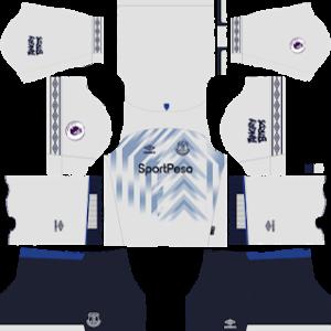 Everton FC Third kit 2019