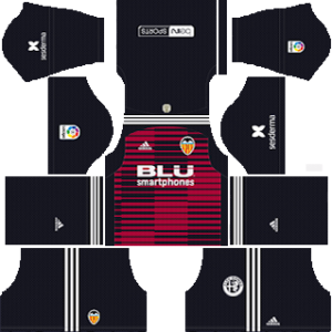 Valencia CF Goalkeeper Home Kit 2019