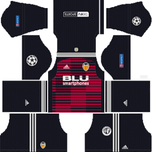 Valencia UCL Goalkeeper Home Kit