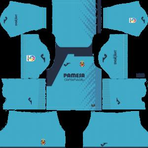 Villarreal CF Goalkeeper Away Kit 2019