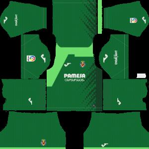 Villarreal CF Goalkeeper Home Kit 2019