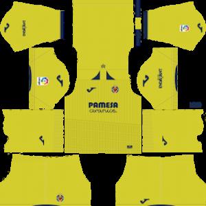 Villarreal CF Kits 2018/2019 Dream League Soccer