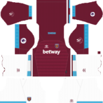 West Ham United Kits 2018-2019 Dream League Soccer