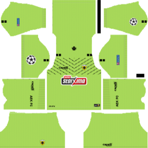 AEK F.C UCL Goalkeeper Away Kit