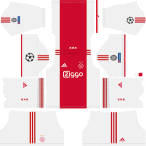 AFC Ajax UCL Home Kit