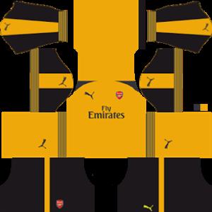 Arsenal Away Kit 2017