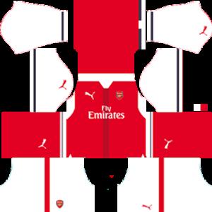 Arsenal Kits 2016/2017 Dream League Soccer