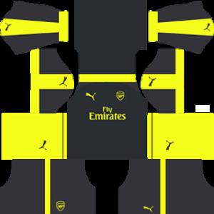 Arsenal Third Kit 2017