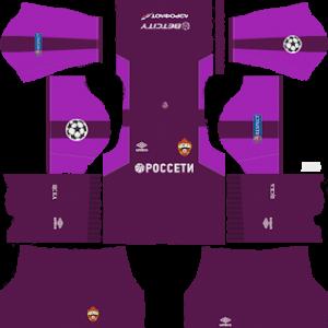 CSKA Moscow UCL Goalkeeper Away Kit
