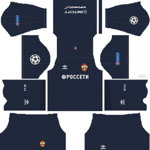 CSKA Moscow UCL Goalkeeper Home Kit