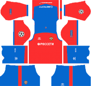 CSKA Moscow UCL Home Kit