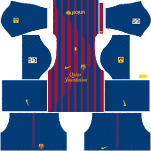 Barcelona Kits 2011/2012 Dream League Soccer