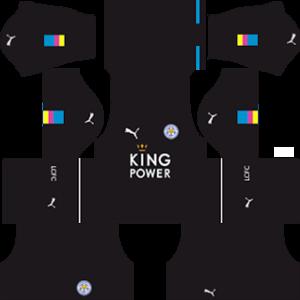 Leicester City Goalkeeper Home Kit: