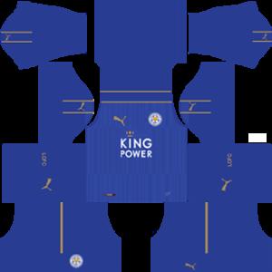 Leicester City Kits 2016/2017 Dream League Soccer