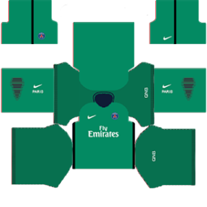 Paris Saint-Germain Goalkeeper Home Kit: