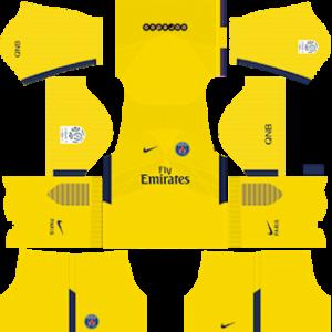 Paris Saint-Germain Away Kit: